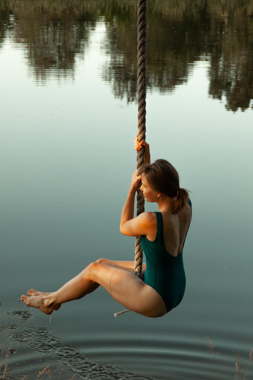 Making my own swimming suit - Sarah Kristen