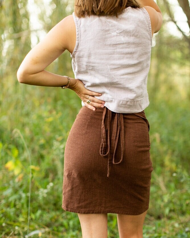 3 Beautiful Wrap Skirt Sewing Patterns