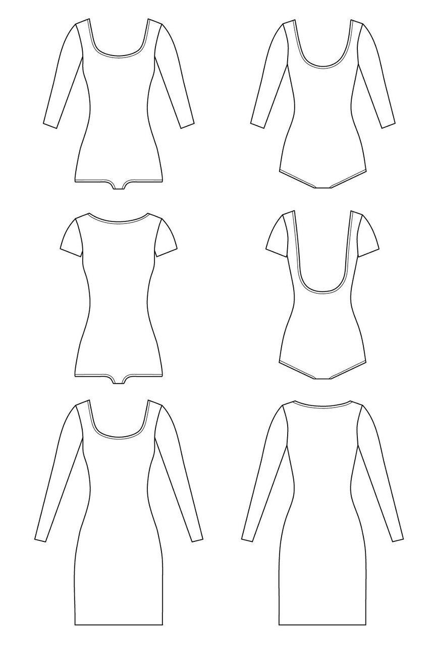3 Great Bodysuit Sewing Patterns Sarah Kirsten