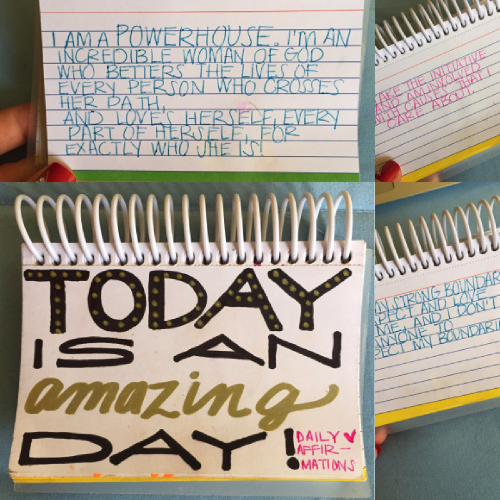 Daily Affirmations are powerful tools! | Women's Wellness Planner