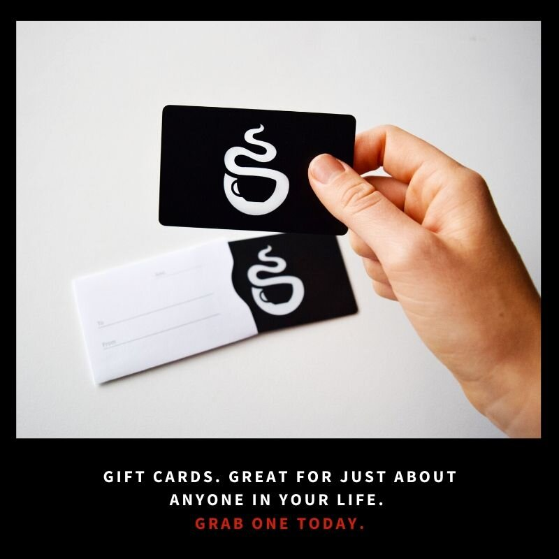 Who doesn't love a gift card for coffee?