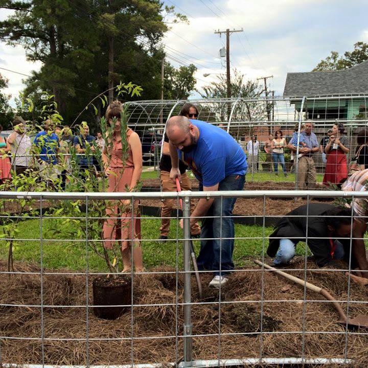 Victory Garden Groundbreaking