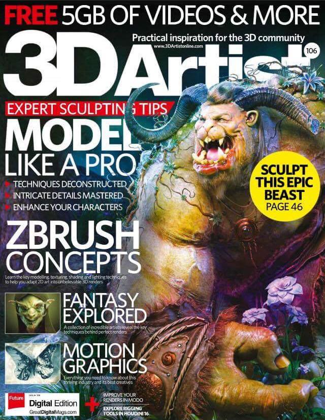 3D Artist Magazine Issue 106
