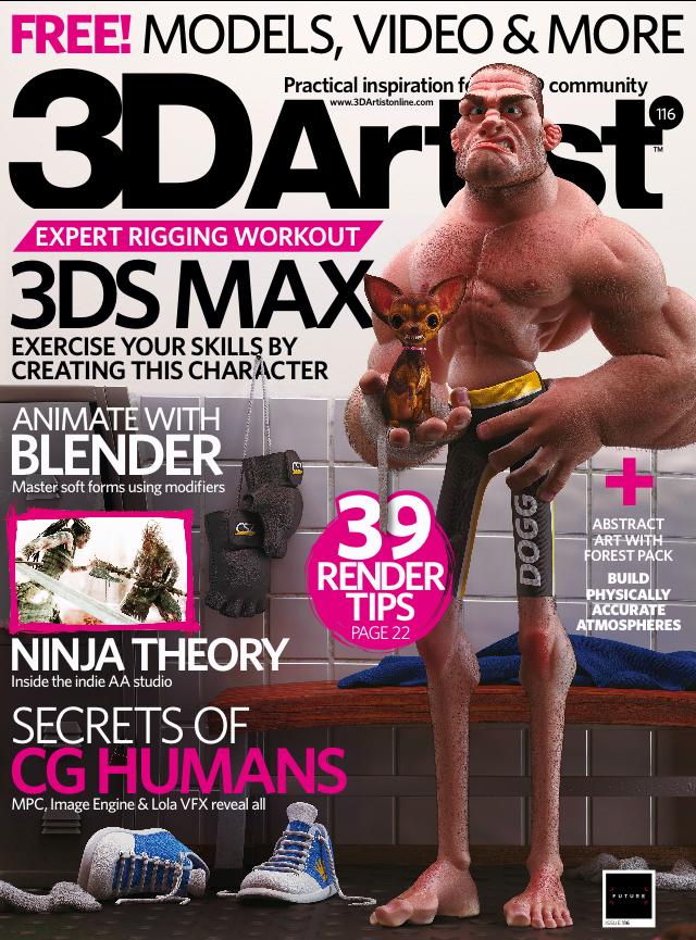 3D Artist Magazine Issue 116