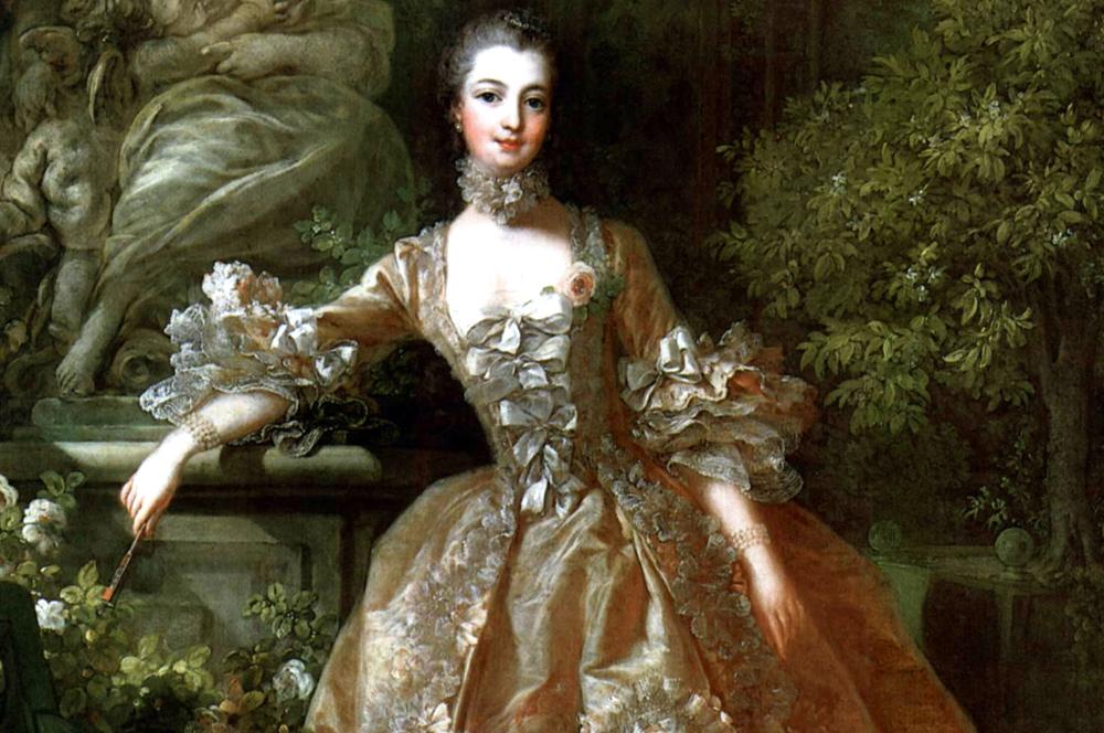 Madame de Pompadour di François Boucher ,(1759)