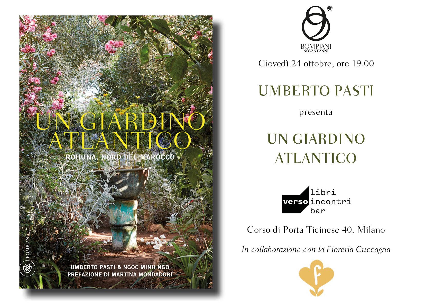 PResentazione libro - Presso la libreria Verso, presentazione del nuovo libro di Umberto Pasti, in collaborazione con la Fioreria