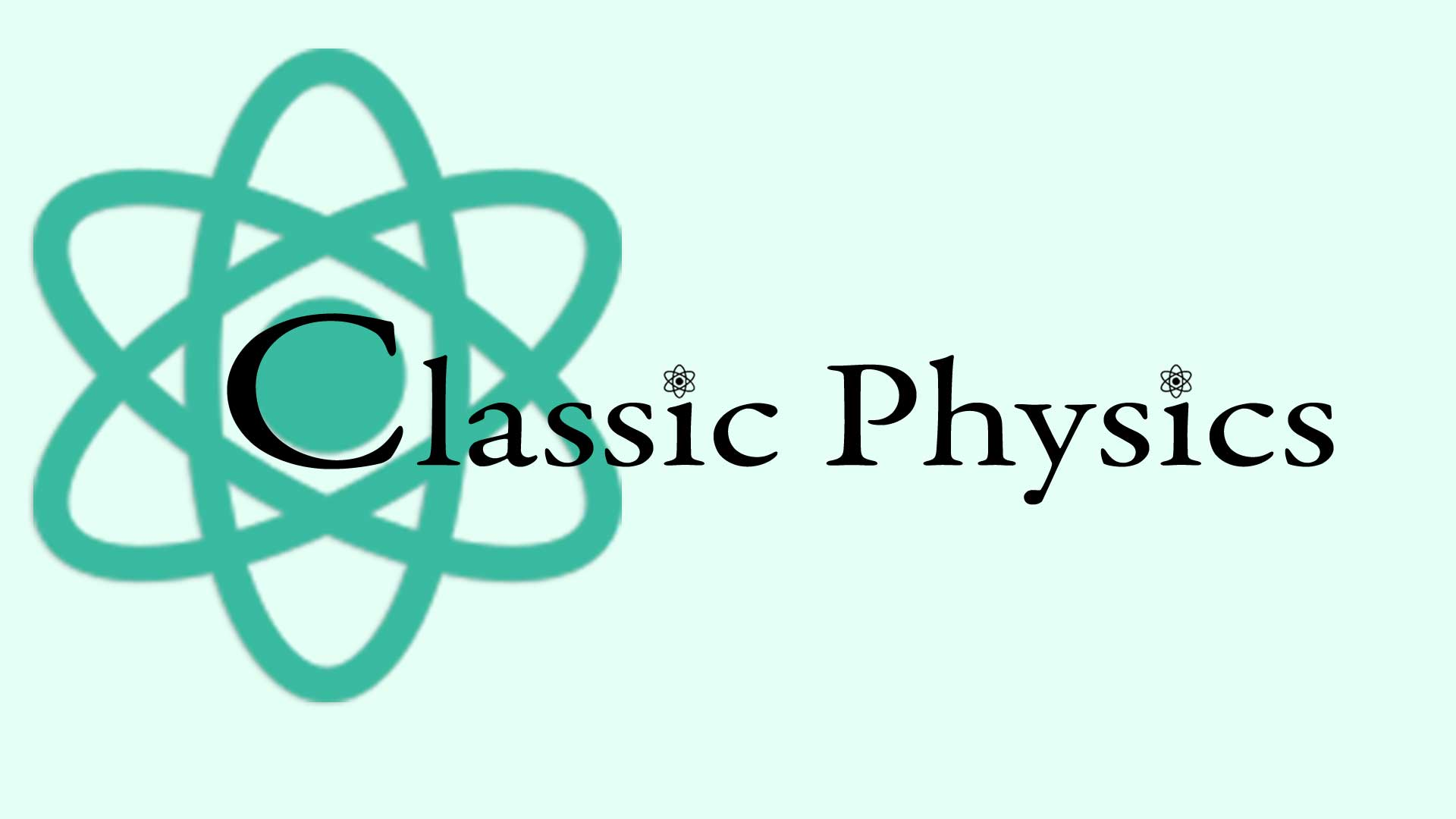 Classical Physics Graphics with Atom