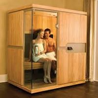 Detoxify with an Infrared Sauna session.