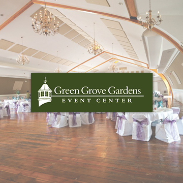 Green Grove Gardens is one of the region's premier event centers, with the capacity to host a tremendous variety of fully-catered events—from weddings and fundraisers to corporate events and even rodeos.   -Click image to view current offers-