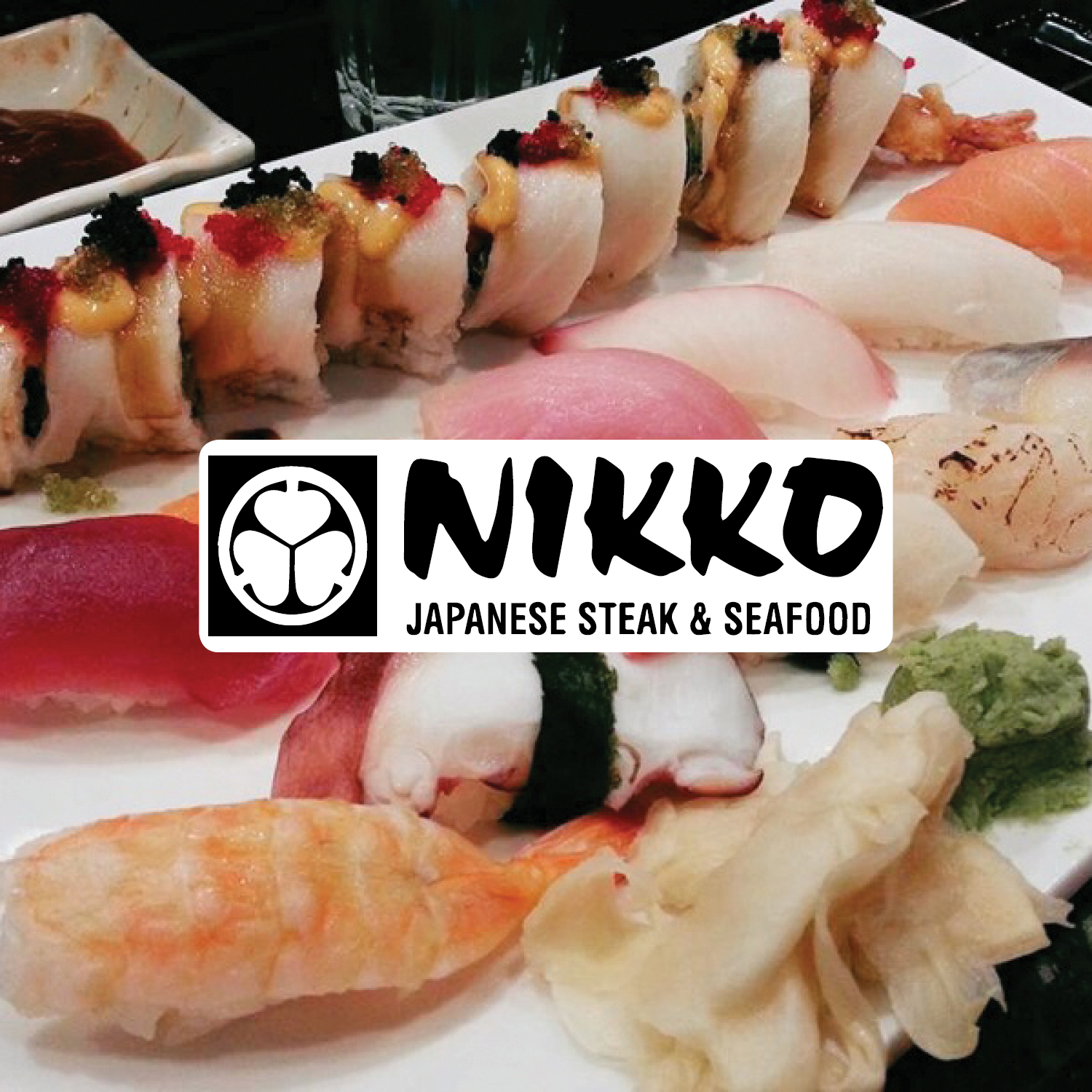 Welcome to Nikkos Japanese Steak & Seafood! Experience a dining experience like no other when you come to our restaurant. We offer a wide selection of sushi and a hibachi grill where your food is cooked and prepared right at your table! Join us for lunch or dinner tonight!    -Click image to view current offers-