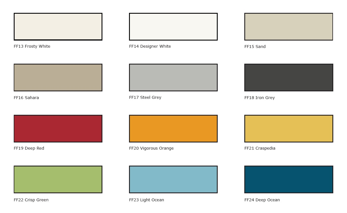 FLEETWOOD PAINT SELECTIONS