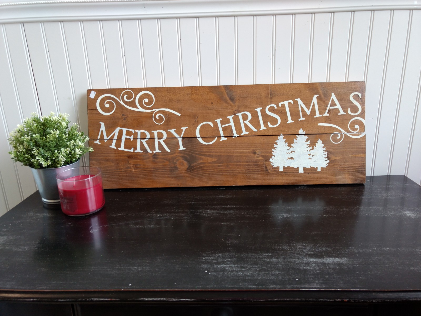 Merry Christmas with Personalized Name