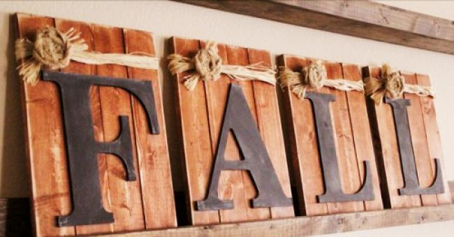 Fall Letters