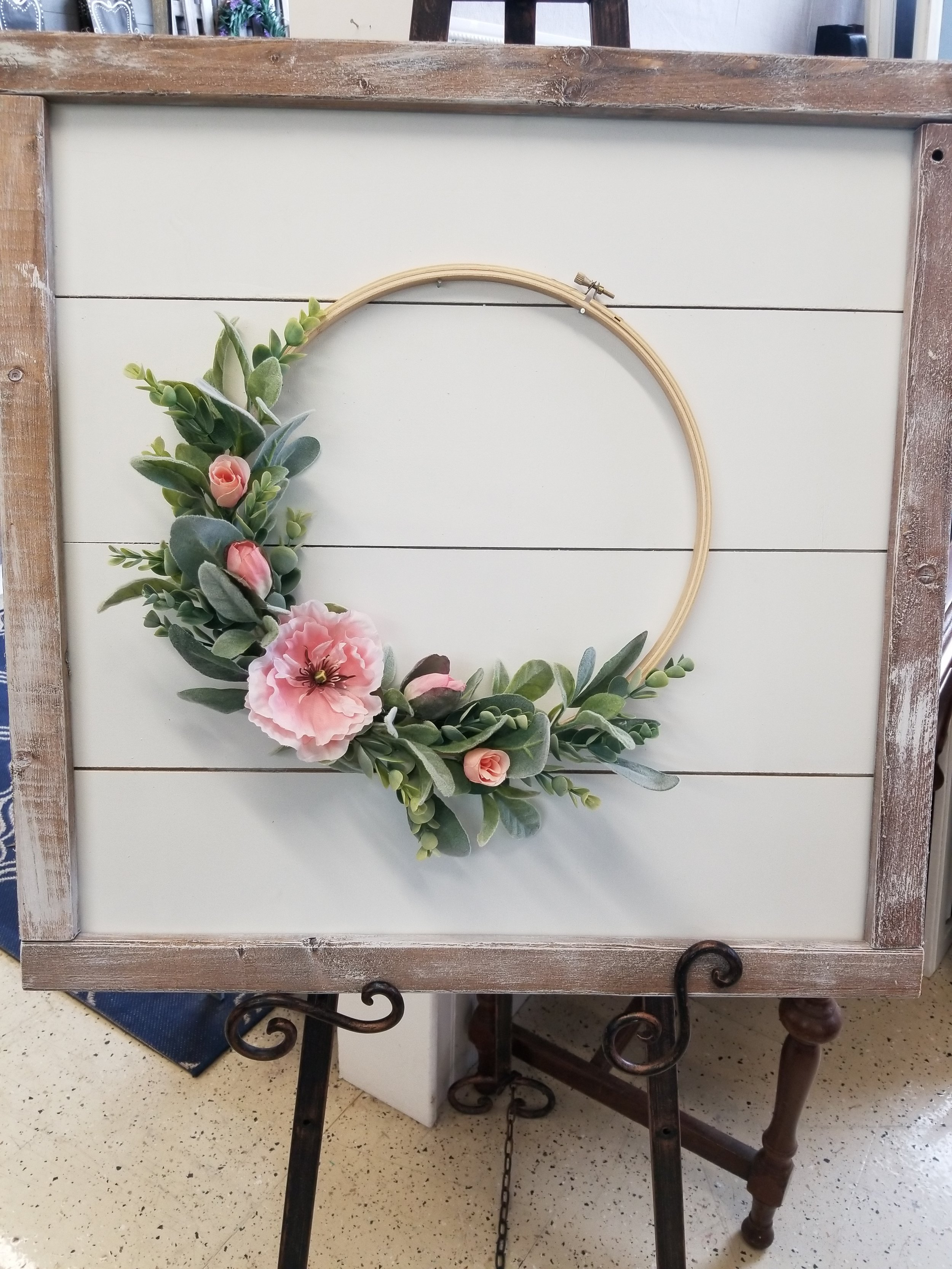 Wreath with Shiplap