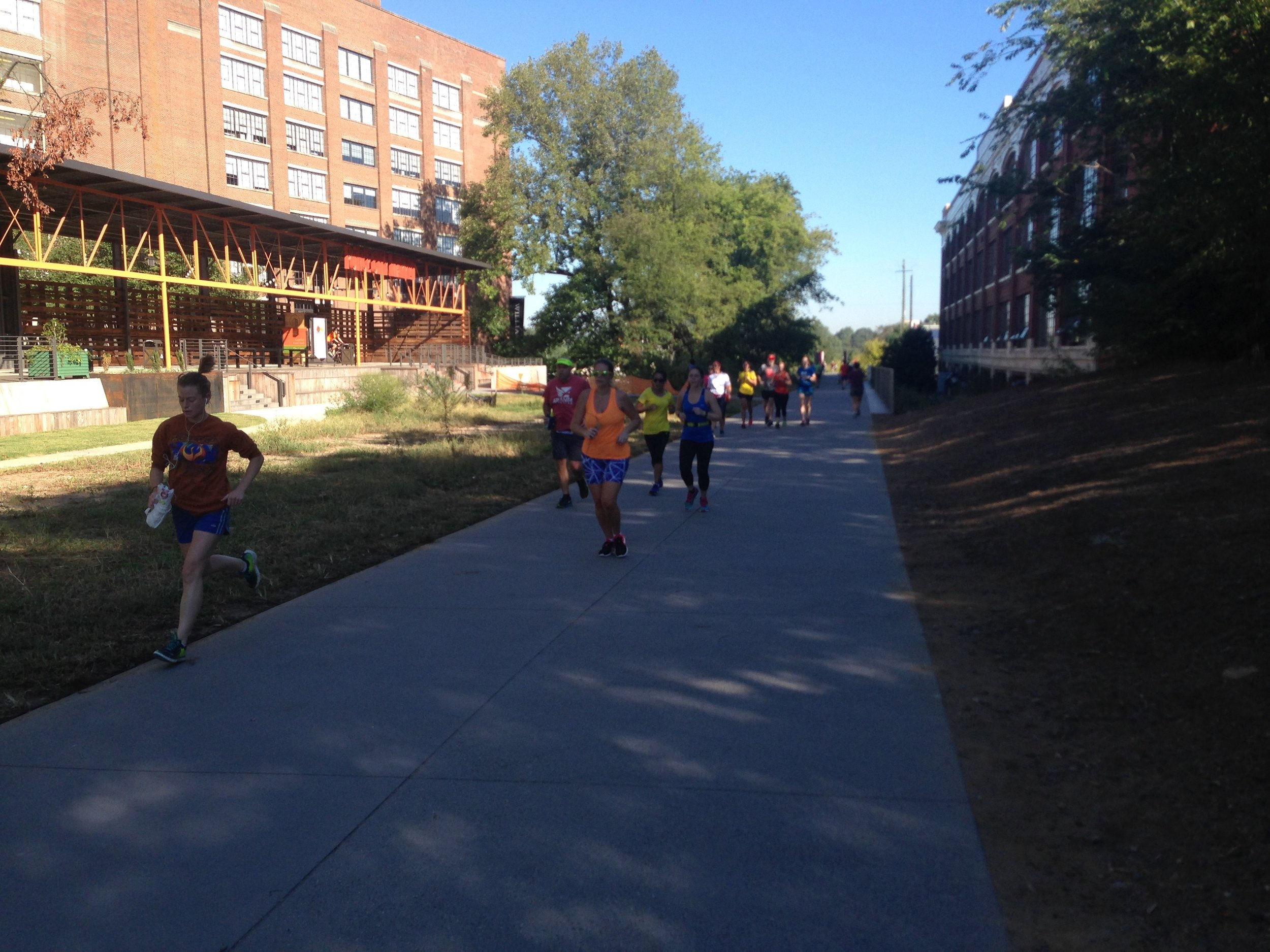 Runners on the Atlanta Beltline
