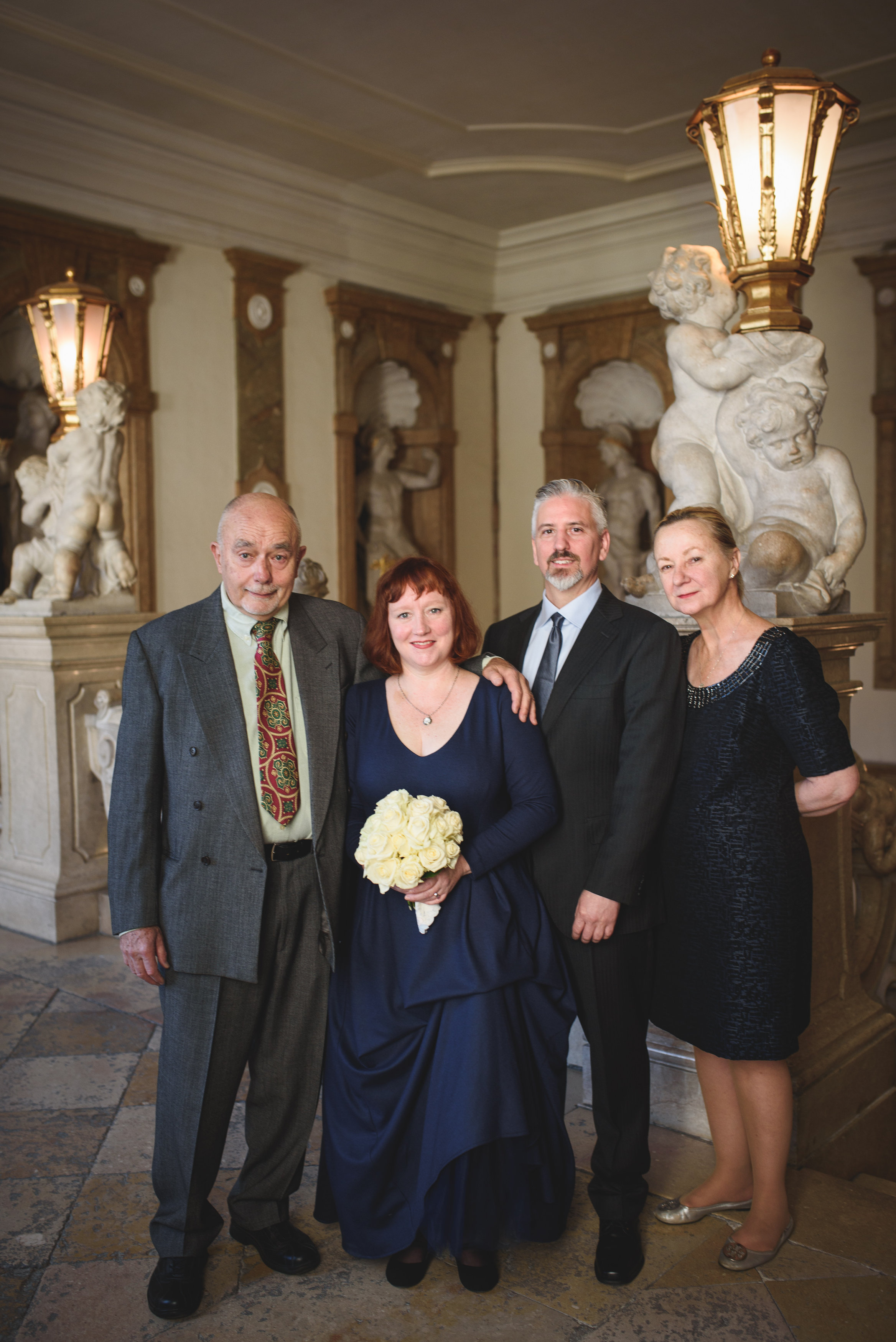 American elopement in Salzburg by professional Austrian wedding planner