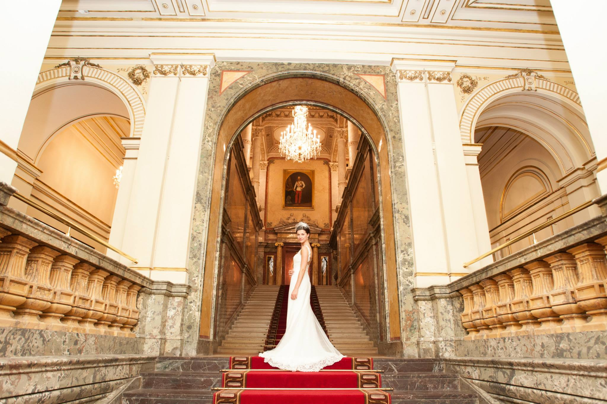 Canadian luxury destination wedding at Hotel Imperial Vienna Austria planned by international wedding planner Vienna High Emotion Weddings