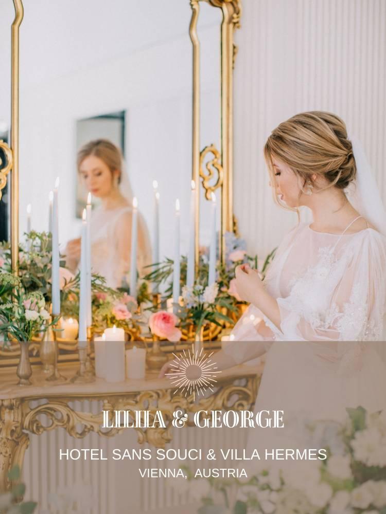 Full-Service Luxury Destination Wedding Planning Abroad in