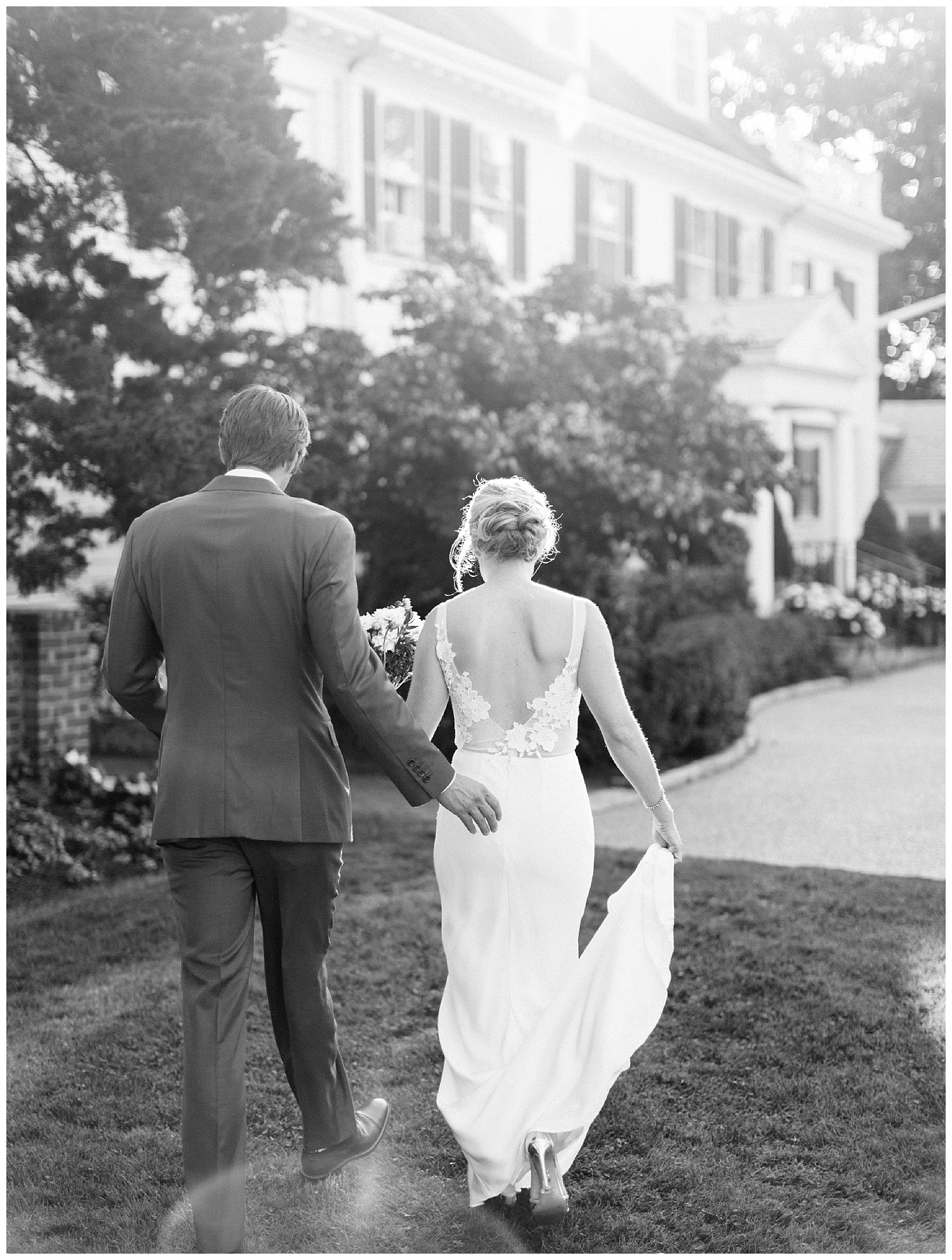 black-and-white-wedding-photograph