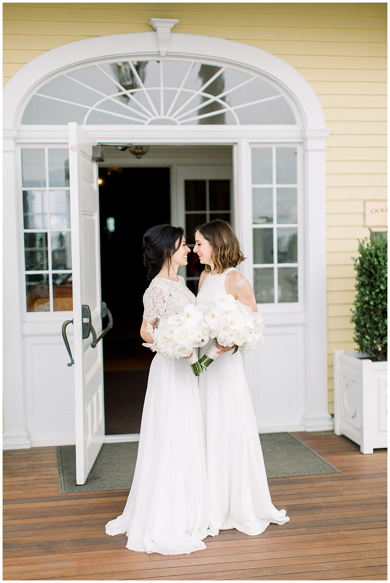 ocean house wedding