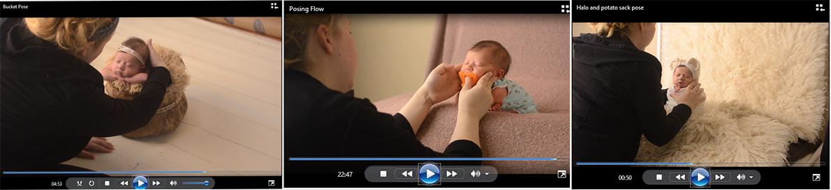 Newborn Workshop Video Tutorial