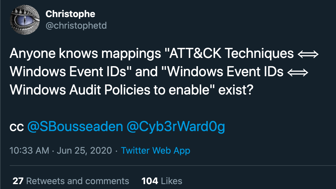 Mapping Windows Event IDs, Policies, and Monitoring Recommendations