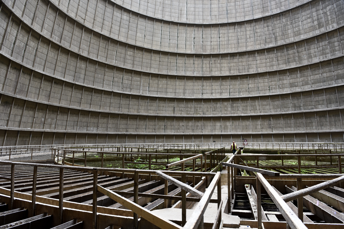 - Belgium - The client wanted industrial decay; Allingham Production secured this huge dis-used cooling tower, which became the subject of VXF photogrammetry and LiDAR for a major motion picture.We provided specialist rope access for the lower levels and the views from above were covered by a state of the art drone shipped from the UK.