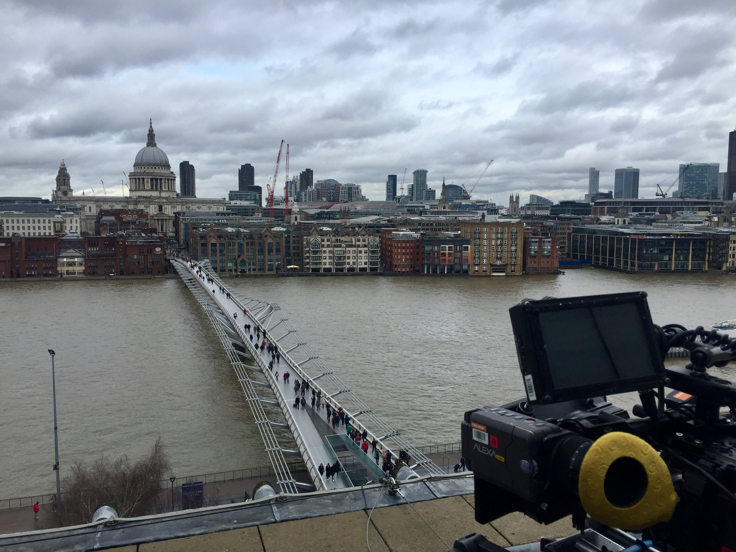 - London - Sometimes, it's just the landmarks you need. A Low-loader shot through the City of London, roof top shots of the cities' icons and a cheeky wide shot grabbed from a panoramic lift was all in a days work for the team on Bad Banks; forthcoming from Letterbox Filmproduktion.
