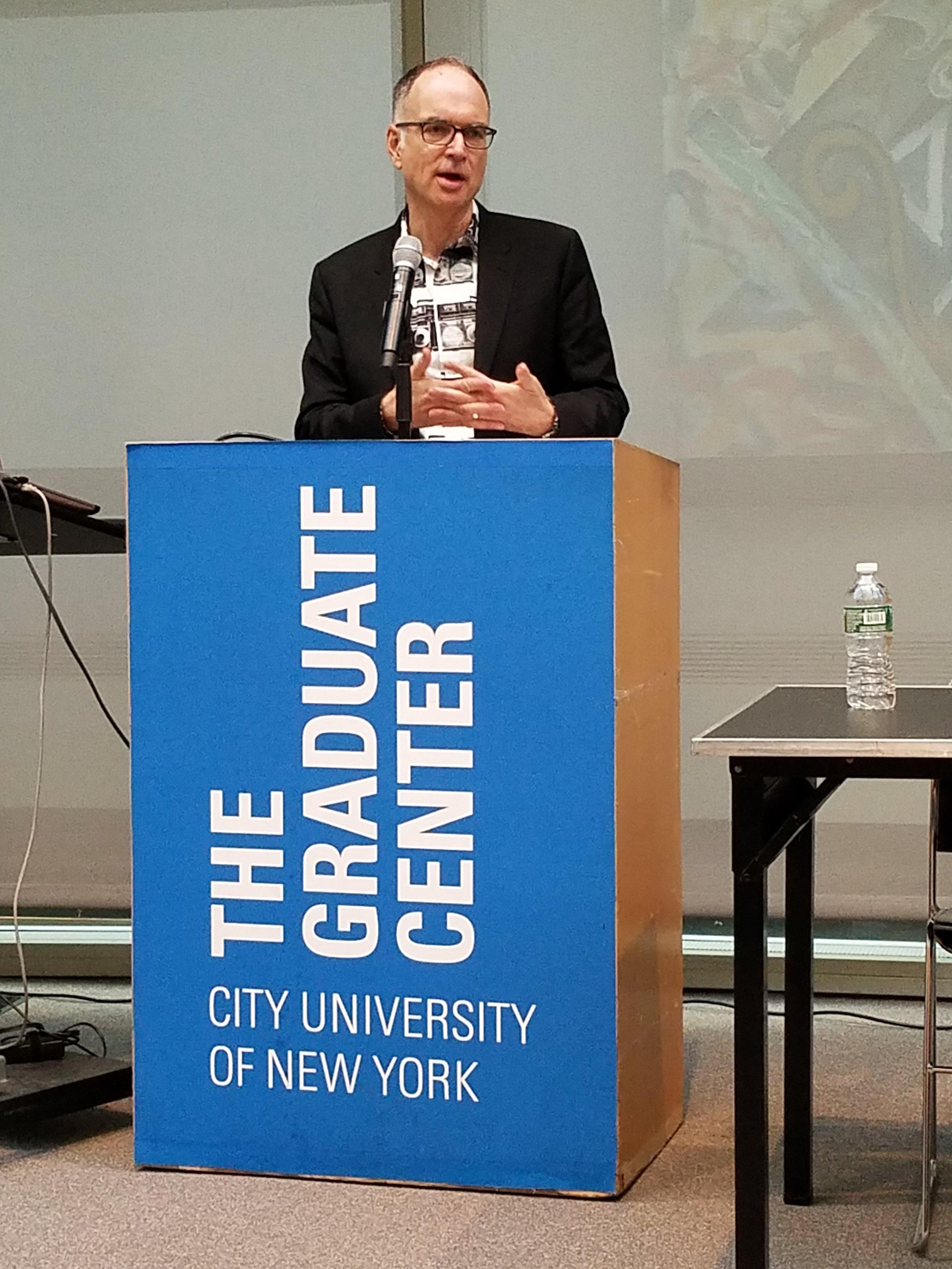 Ken Wissoker, Editorial Director, Duke University Press and Director of Intellectual Publics, The Graduate Center, City University of New York