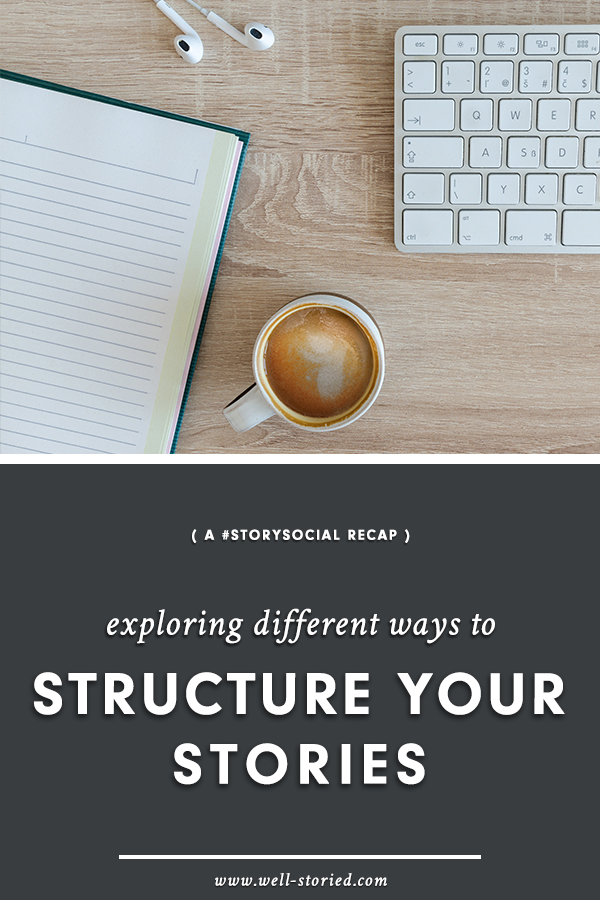 There are many ways to structure a story. In this #StorySocial chat recap, I'm sharing a peak at how over a dozen writers expand and shape their story ideas into full-fledged novels.