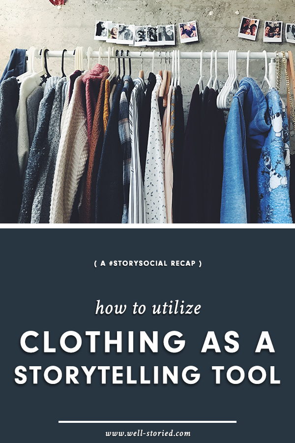Did you know that clothing + fashion can be powerful storytelling tools? It's true! Check out this recap of our recent #StorySocial chat, where we talked about this topic in depth!