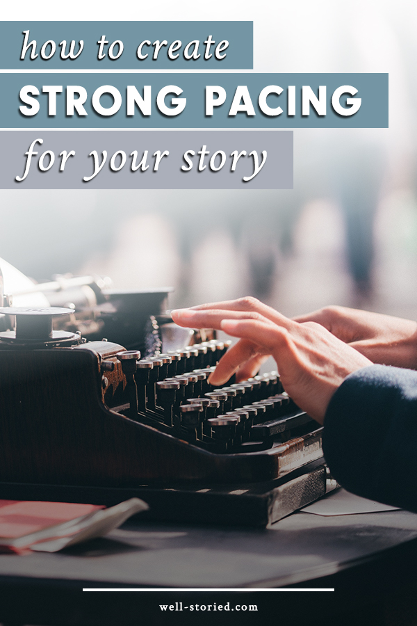 Does your story read too fast or two slow? Don't leave readers bored or bewildered. Learn how to create strong pacing for your story today!