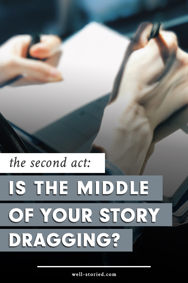 Feel like the middle of your story is dragging? Learn to avoid Sagging Middle Syndrome and write the gripping adventures your readers crave with this breakdown of the second act of the 3-Act Story Structure over on the Well-Storied blog!