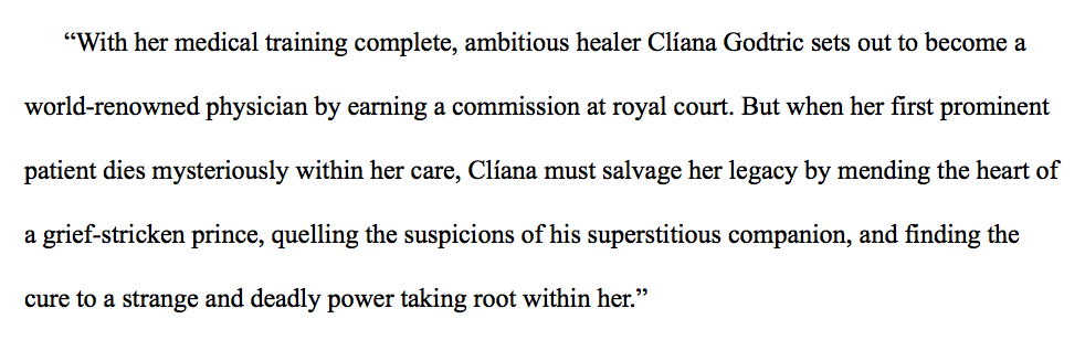 This is the premise for my current work-in-progress,  Lady Legacy .