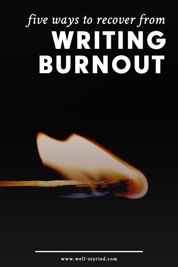 Every writer has experienced burnout, but not every writer has been able to come back from it. You can. Today on the blog, guest writer Nichole Severn shares how!