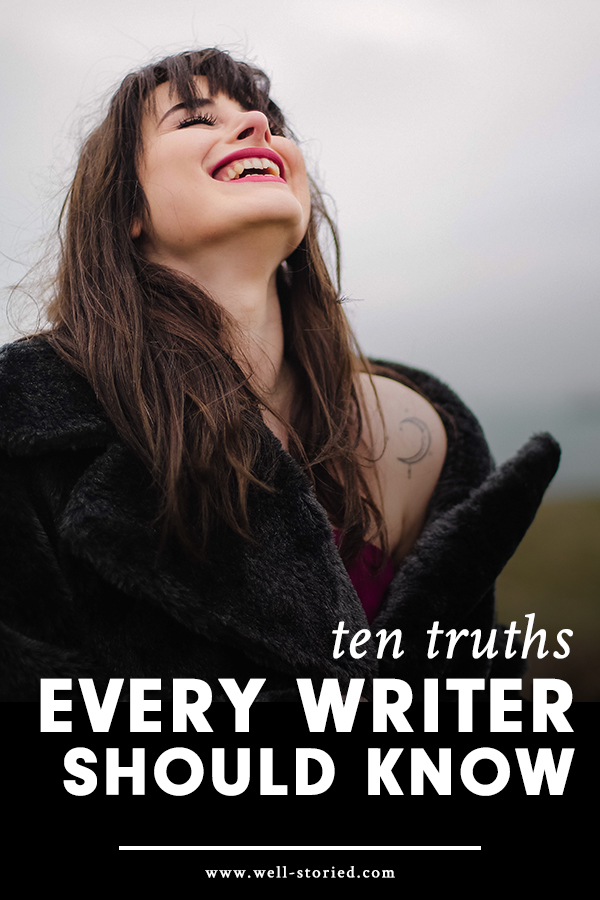 Are your writing doubts hitting hard? Here are ten encouraging truths to brighten up your day!