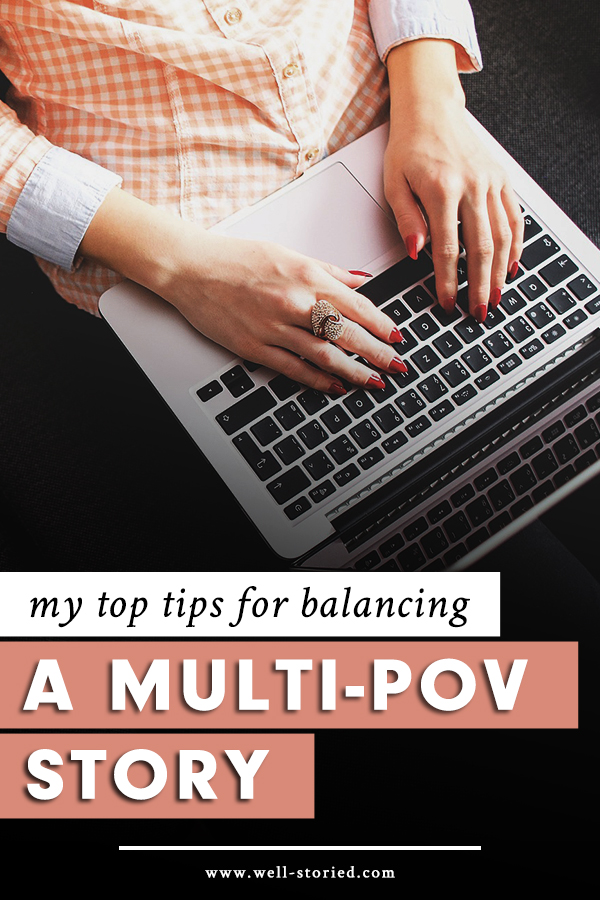 Writing fiction from the perspectives of multiple characters can be a lot of fun, but utilizing multiple points-of-view isn't the simplest technique to master. That's why I'm sharing my top tips in this breakdown on the Well-Storied blog!