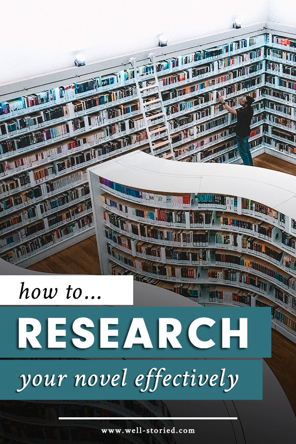 How to Cut the Crap and Research Your Novel Effectively | How To Write A Story Guide | She's Novel