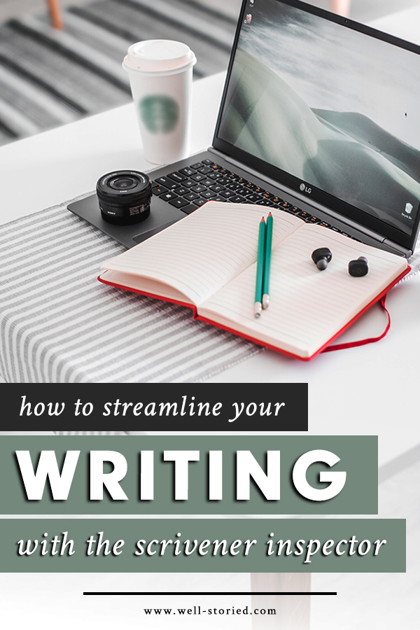 What in the world is the Scrivener Inspector, and how can it help you streamline your day-to-day writing life? Let's discuss in today's video lesson & transcript!
