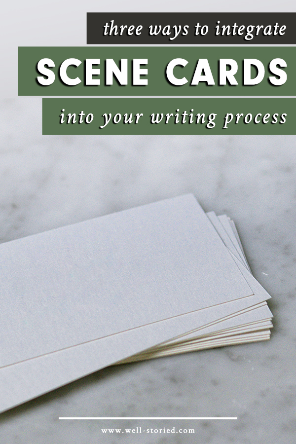 Love the visual organization that scene cards can provide? Learn how to better integrate scene cards into your writing process today!