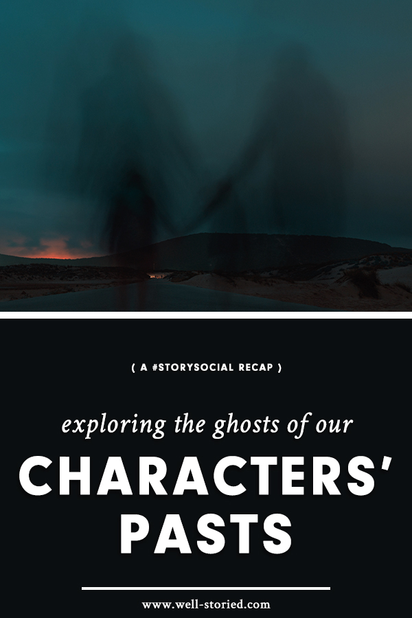 This week at #StorySocial, we explored the ghosts of our characters' pasts while playacting as our characters. Catch the recap today!