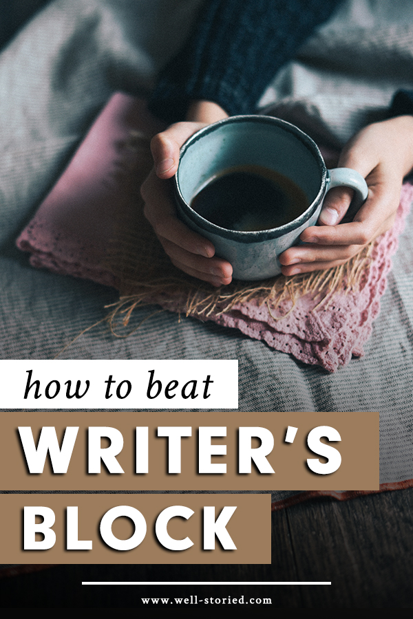 Tired of getting stuck in your writing life? Author and writing coach Kate Johnston shares how you can take steps to beat writer's block today!