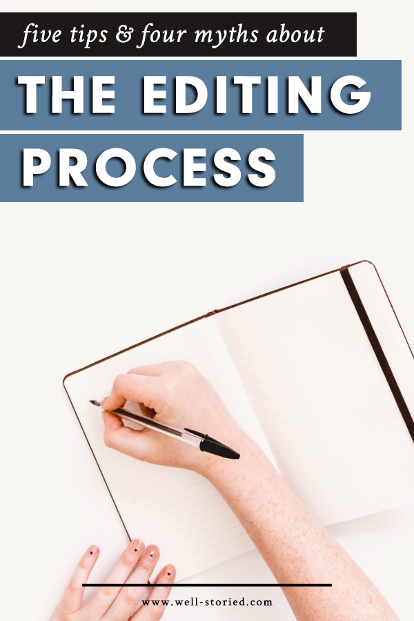 Preparing to edit your manuscript? Creative writing instructor and book editor Jacquelin Cangro share five tips and four myths about the editing process to help you produce the best possible story!