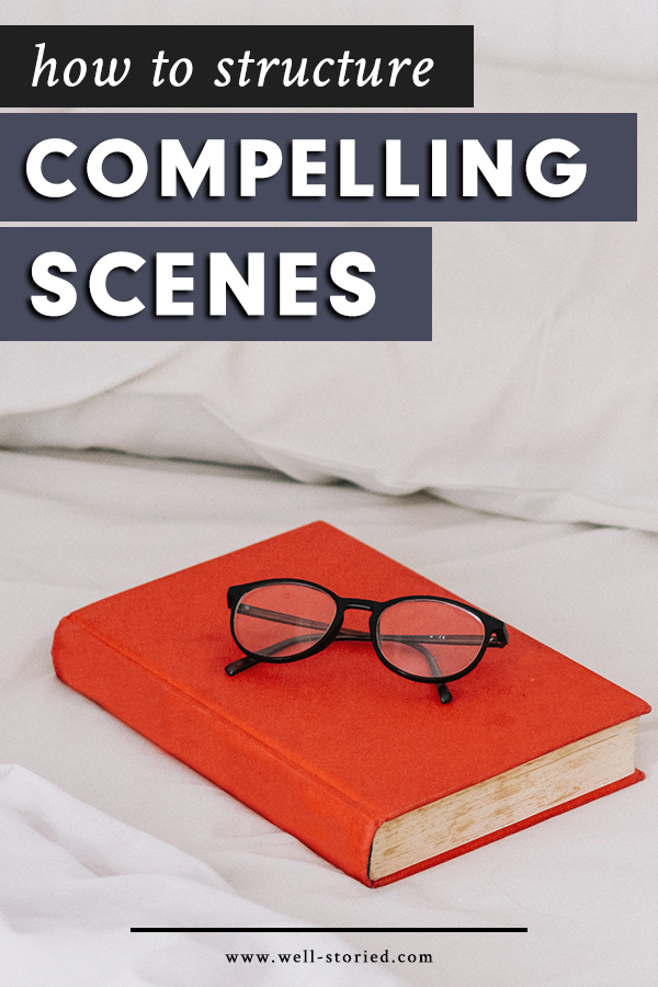 If each scene in a book is a link in a chain, one weak link could threaten the overall power of a story. But what exactly makes for a compelling, well-structured scene? Let's talk about six elements that nearly all fantastic scenes contain over on the Well-Storied blog!