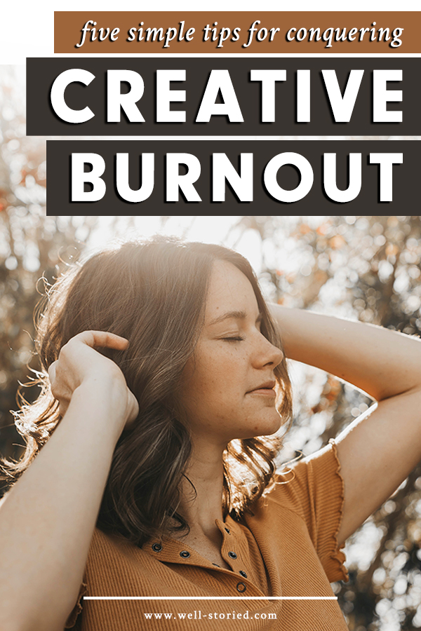 You're excited about your story idea, but sitting down to write often feels far too exhausting. What can you do when you find yourself too physically and mentally tired to write? Today on the Well-Storied blog, Jess Costello shares five simply methods for combatting creative burnout you don't want to miss!