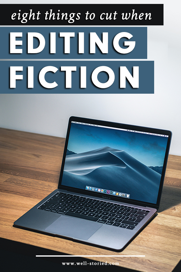 Eager to improve the quality of your writing? Don't underestimate the power of tightening your prose. In today's article, I'm sharing the eight items you should cut or reconsider when editing fiction, helping you transform weak and clumsy writing into irresistible read.