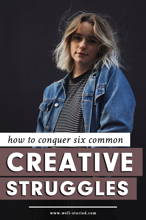 Struggling to find your footing as a new writer? Learn how to conquer six common creative struggles in this guest post from Brooke Dore on the Well-Storied blog!