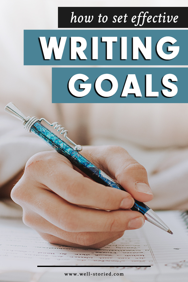 Do you set goals to motivate yourself to complete difficult creative work, only to fail to complete that work? You aren't alone. In fact, this is a common result of goal-setting. Today on the blog, I explain why and share my simple system for setting effective writing goals that will revolutionize your creative process!