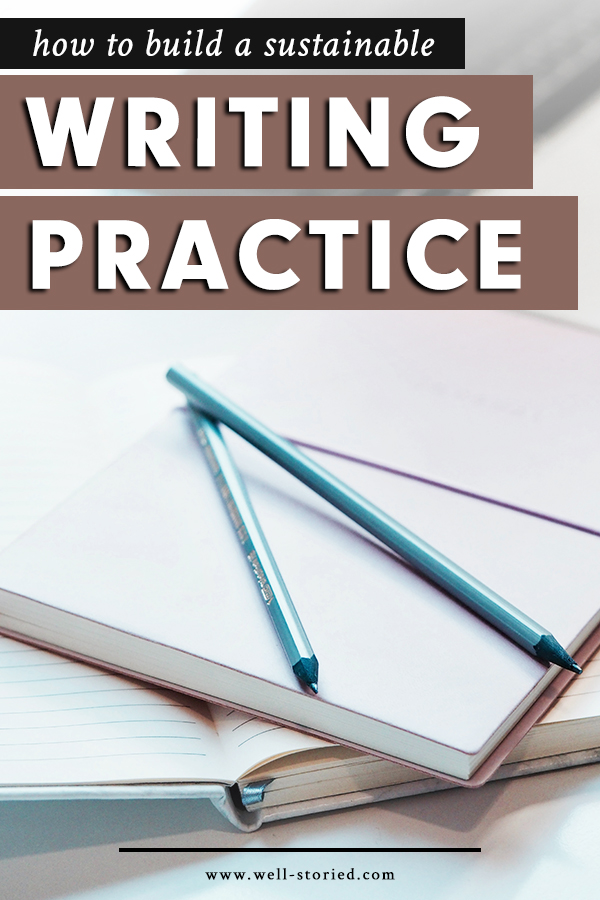 Struggling to sit down and write? Tired of failing to maintain your writing habit? It's time to learn how to build a writing practice you can easily sustain as you work to lead your best writing life!