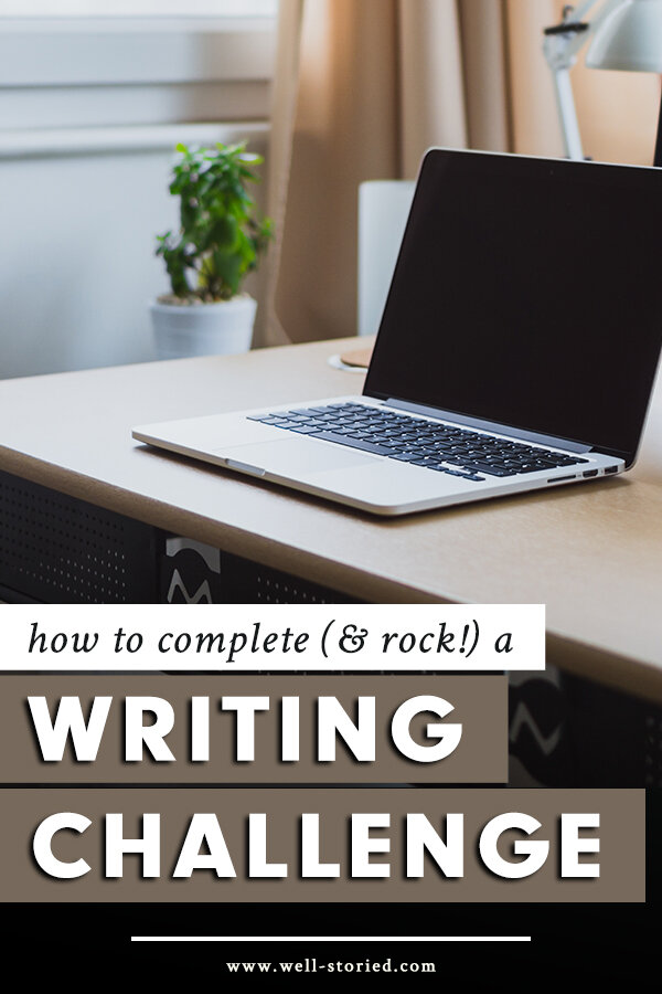 Are you participating in a writing challenge for the first time? Or have you tried and failed to complete a writing challenge in the past? In today's blog post, I'm sharing eight tips to help you rock your writing challenge without falling victim to burnout!